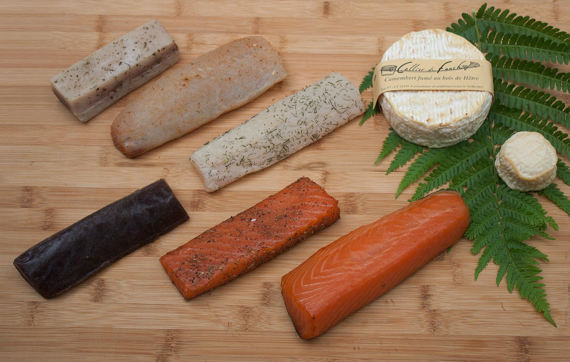 Photo des produits fumés du Cellier de Fanch